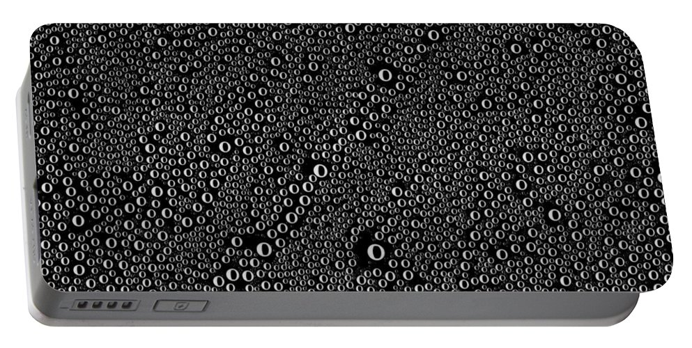 Condensation Portable Battery Charger featuring the photograph Condensation by Mark Greenberg