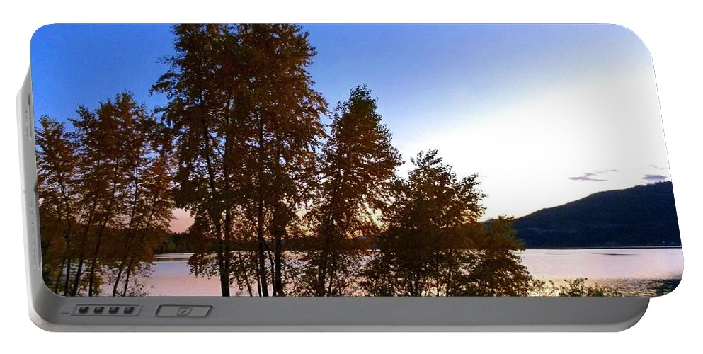 Autumn Portable Battery Charger featuring the photograph Country Color 16 by Will Borden