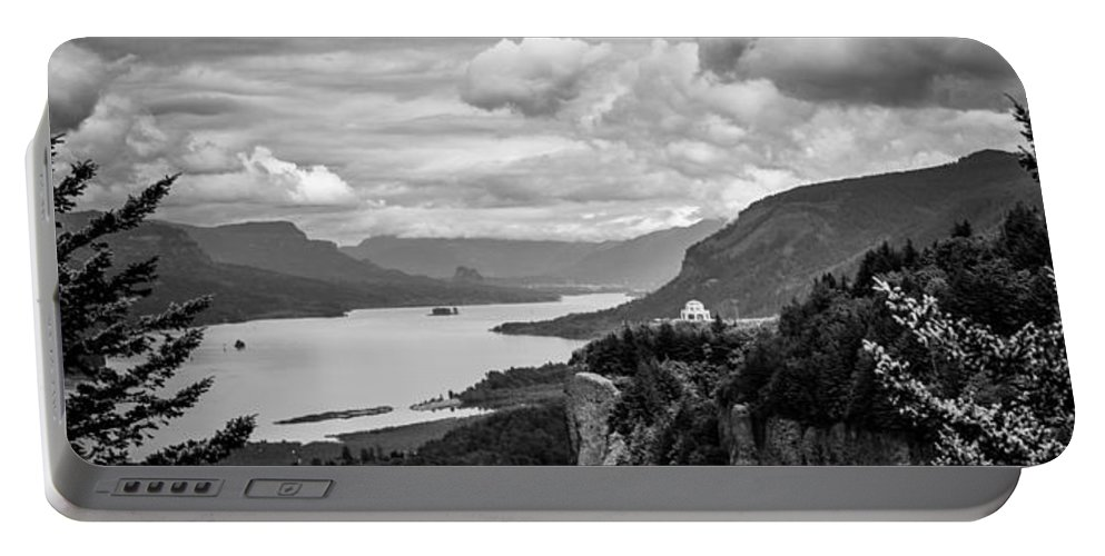Crown Point Portable Battery Charger featuring the photograph Crown Point Two by Mike Penney