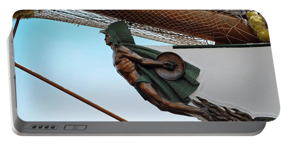 Cuauhtemoc Portable Battery Charger featuring the photograph Cuauhtemoc Mexico Ship by Jost Houk