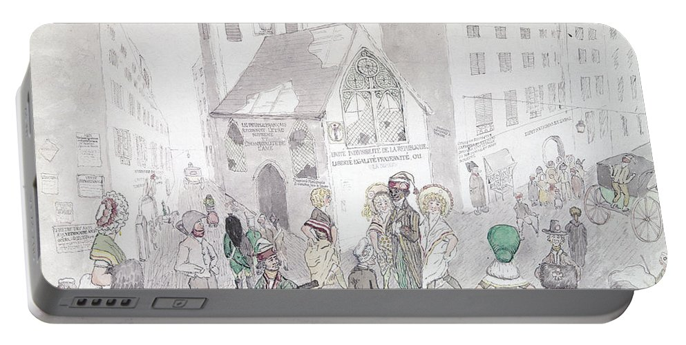 1794 Portable Battery Charger featuring the photograph Cult Of Supreme Being by Granger