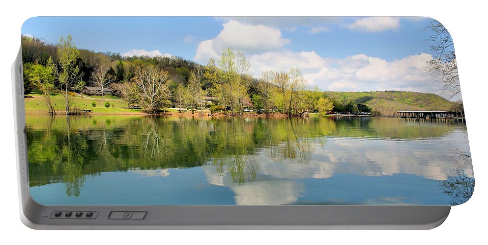 Dale Hollow Portable Battery Charger featuring the photograph Dale Hollow Tennessee by Kristin Elmquist