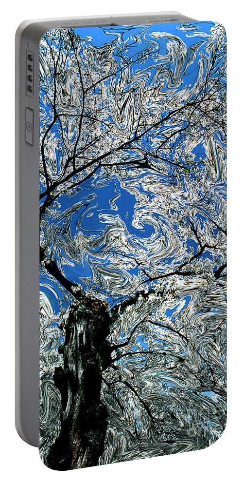 Spring Portable Battery Charger featuring the photograph Dali Spring 5 by Mike Nellums