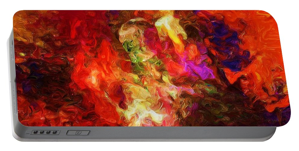 Fine Art Portable Battery Charger featuring the digital art Damnation by David Lane