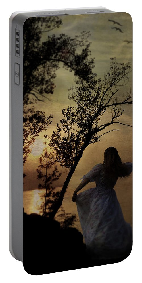 Portable Battery Charger featuring the photograph Dancing Girl by Joana Kruse