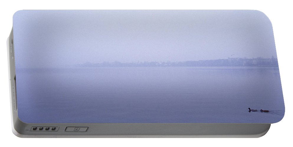Nature Portable Battery Charger featuring the photograph Ethereal Dawn by Shaun Higson