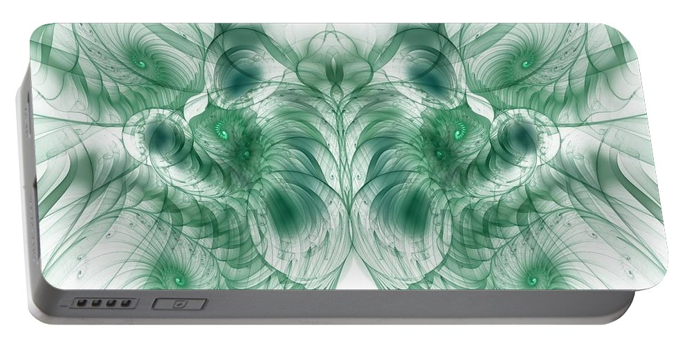 deep Exploration Portable Battery Charger featuring the digital art Deep Exploration by Georgiana Romanovna