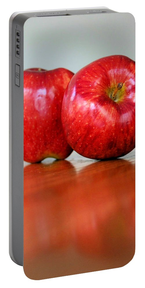 Apple Portable Battery Charger featuring the photograph Delicious by Kristin Elmquist