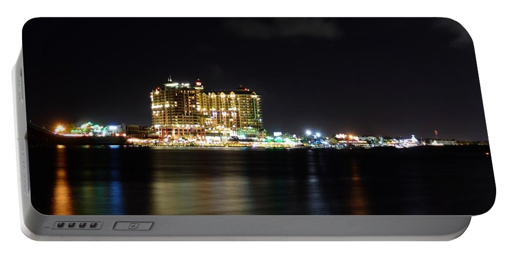 Destin Portable Battery Charger featuring the photograph Destin Harbor by David Morefield