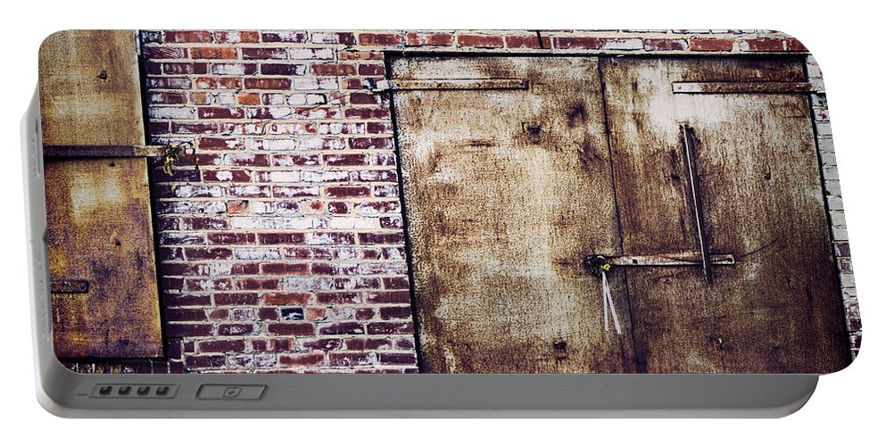 Rusty Portable Battery Charger featuring the photograph Dismal At Best - Rusty And Crusty by Kathy Clark