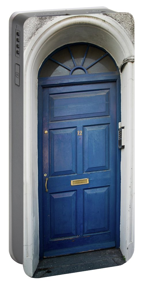 Portable Battery Charger featuring the photograph Door In Ireland 6 by Douglas Barnett