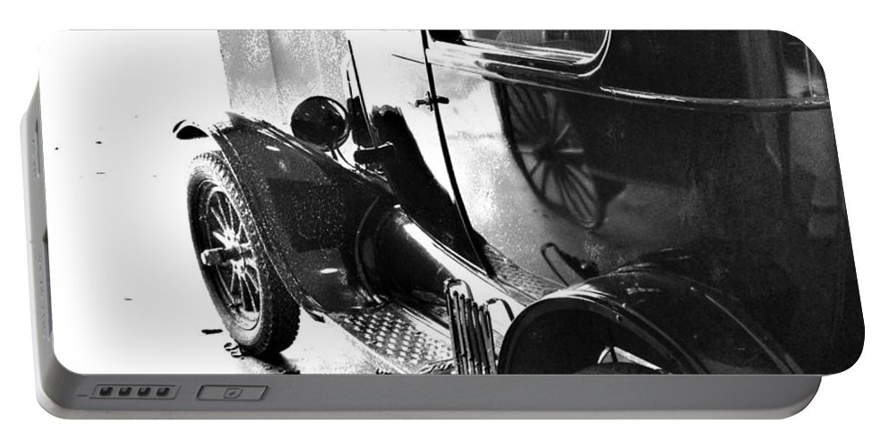 Old Car Portable Battery Charger featuring the photograph Dr Jones by The Artist Project