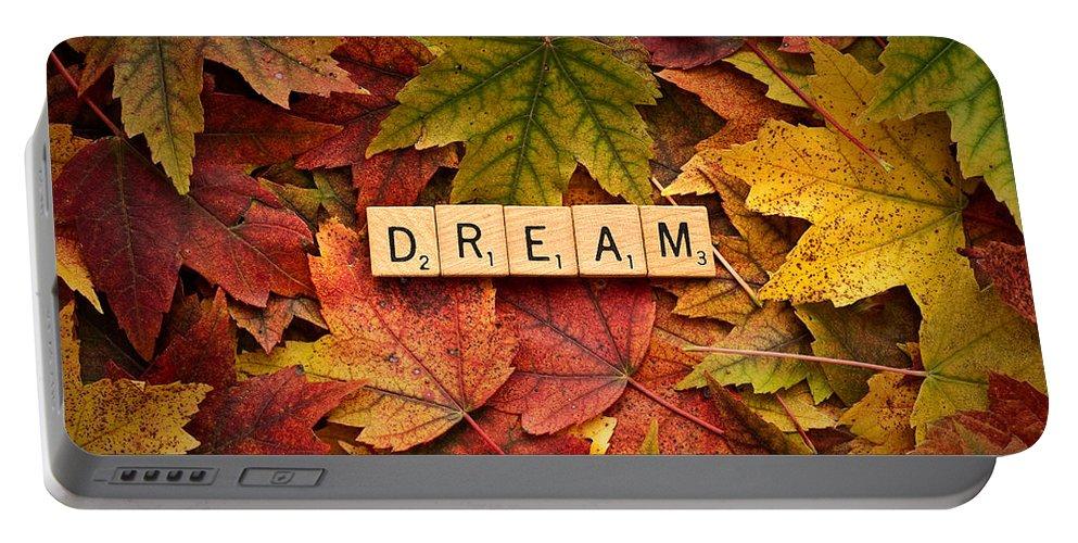 Daniel J. Kmiecik Portable Battery Charger featuring the photograph Dream-autumn by Onyonet Photo Studios