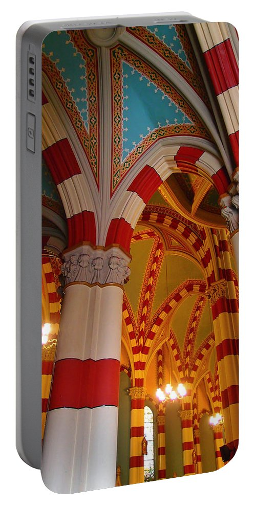 Dulce Iglesia Portable Battery Charger featuring the photograph Dulce Iglesia by Skip Hunt