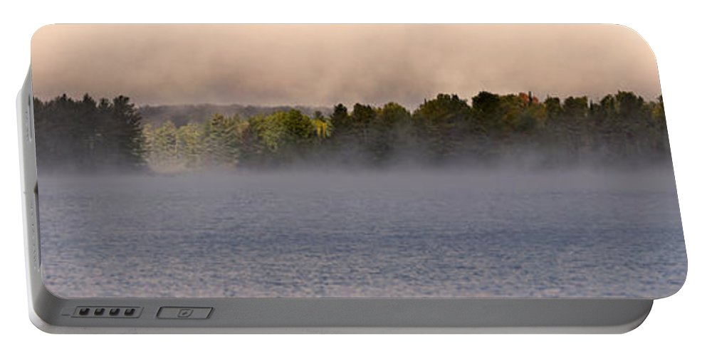 Eagle Lake Portable Battery Charger featuring the photograph Eagle Lake Panorama by Cale Best