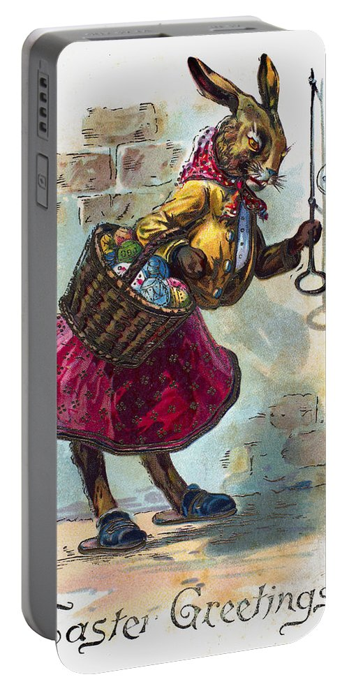 19th Century Portable Battery Charger featuring the photograph Easter Card by Granger