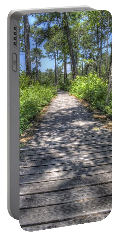 Weeks Bay Portable Battery Charger featuring the photograph Easy Path by David Troxel