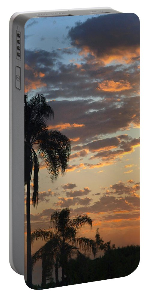 Sunrise Portable Battery Charger featuring the photograph Ellery Sunrise by Joe Schofield