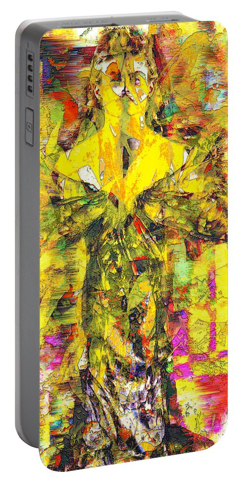 Embrace Of Fall Portable Battery Charger featuring the digital art Embrace of Fall by Seth Weaver