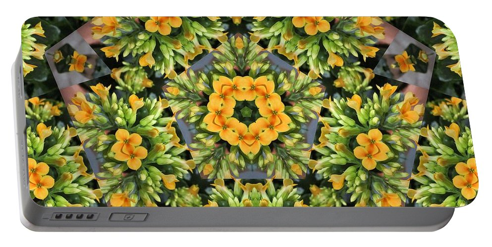 Flower Portable Battery Charger featuring the photograph Emerson by Trish Tritz