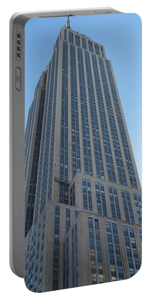 New York Portable Battery Charger featuring the photograph Empire State Building by Richard Bryce and Family