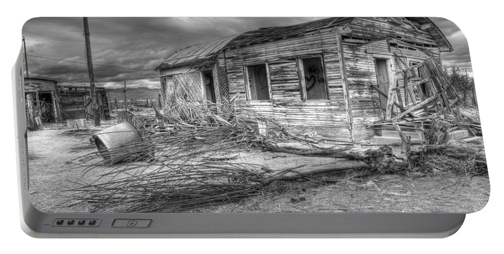 Dreams Portable Battery Charger featuring the photograph The End by Bob Christopher