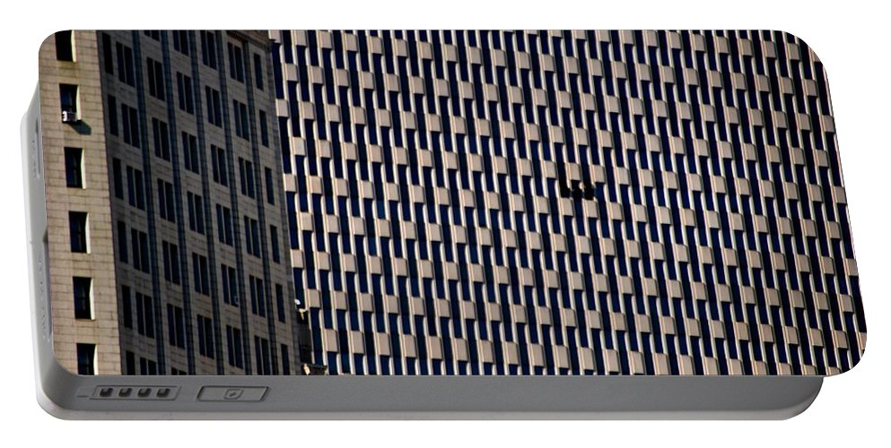 Endless Windows Portable Battery Charger featuring the photograph Endless Windows by Eric Tressler