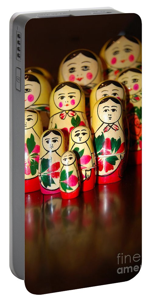 Extended Family Portable Battery Charger featuring the photograph Extended Family by Robert Meanor