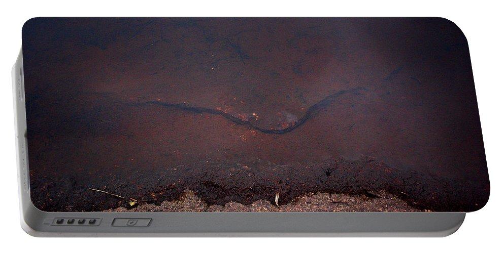 Lehtokukka Portable Battery Charger featuring the photograph Face Of The Lake by Jouko Lehto