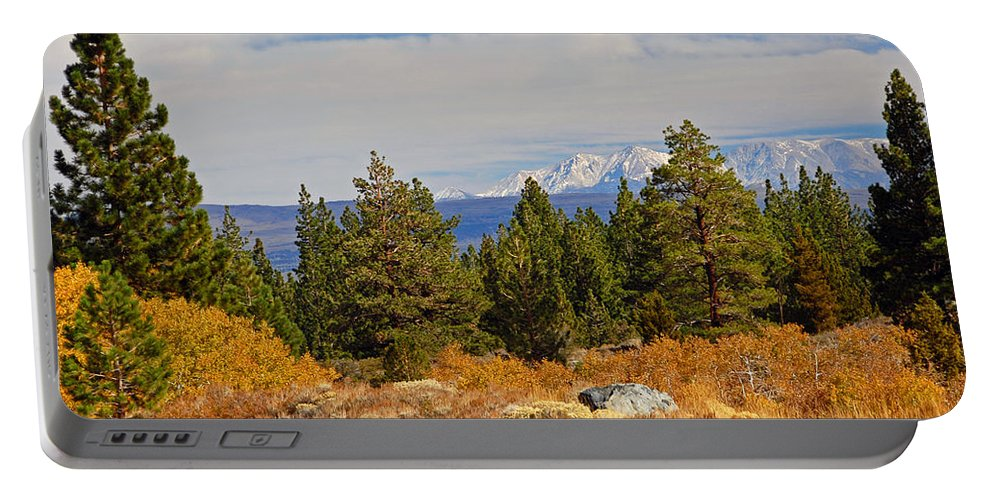 Fall Portable Battery Charger featuring the photograph Fall In The Sierra by Lynn Bauer