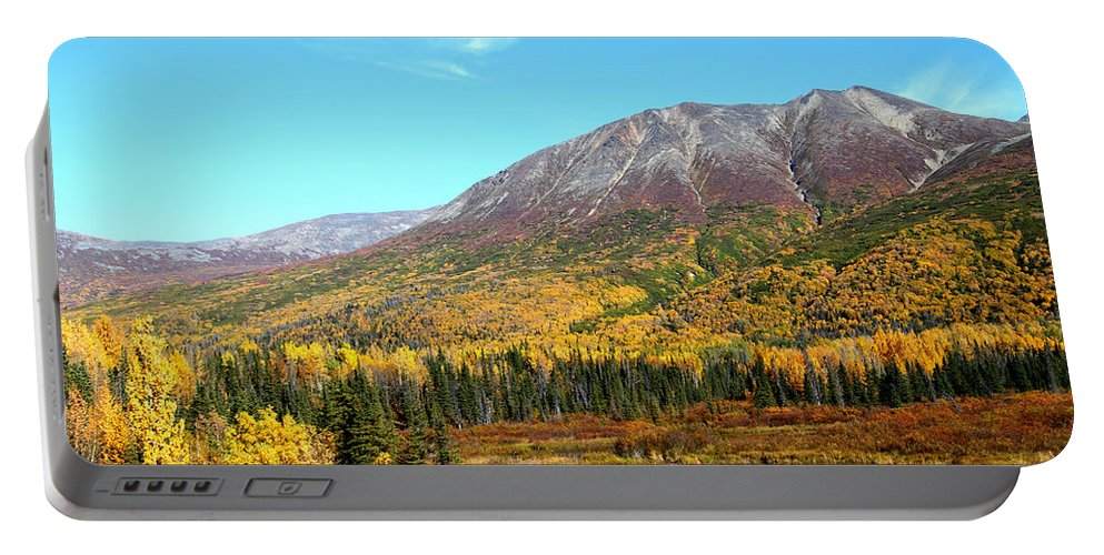 Doug Lloyd Portable Battery Charger featuring the photograph Fall Valley by Doug Lloyd