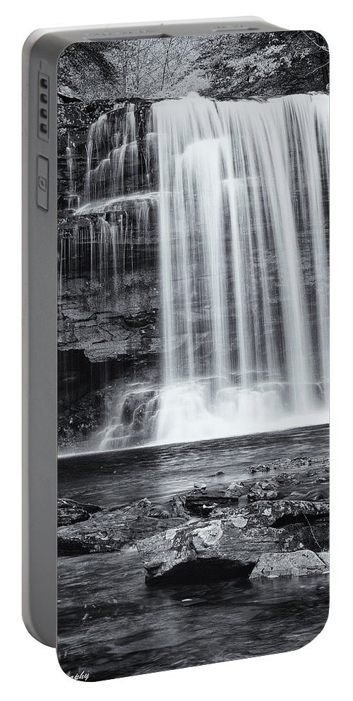 Landscape Portable Battery Charger featuring the photograph Falls by Fran Gallogly
