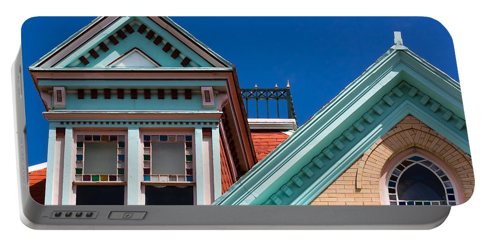 Architecture Portable Battery Charger featuring the photograph Features Of Casa Cayo Hueso by Ed Gleichman