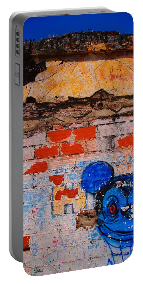 Felipe Portable Battery Charger featuring the photograph Felipe by Skip Hunt