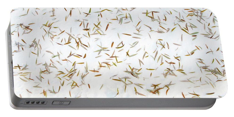 Guy Whiteley Photography Portable Battery Charger featuring the photograph Fish Pond by Guy Whiteley