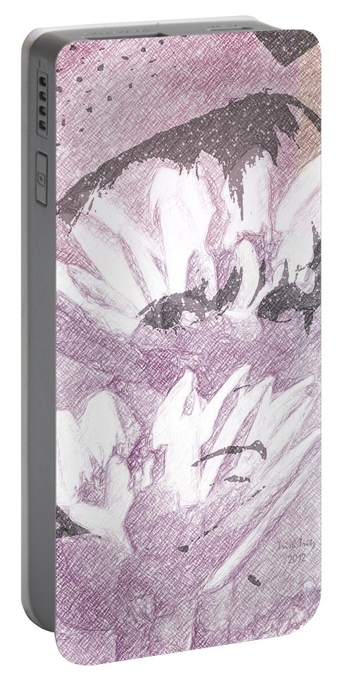 Flower Portable Battery Charger featuring the photograph Flower Girl by Trish Tritz