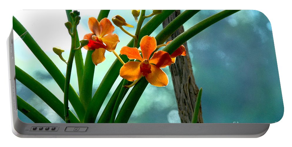 Nature Portable Battery Charger featuring the photograph Flowers In Spring by Pravine Chester