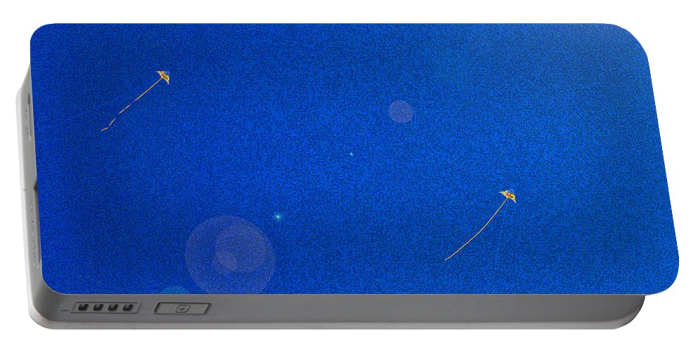 First Star Art Portable Battery Charger featuring the photograph Flying Kites by First Star Art