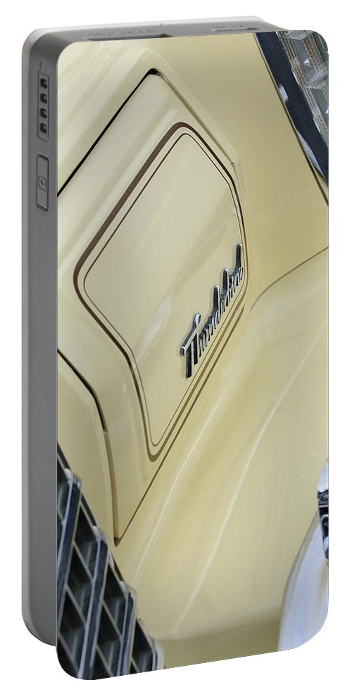 Ford Thunderbird Portable Battery Charger featuring the photograph Ford Thunderbird Head Light by Jill Reger