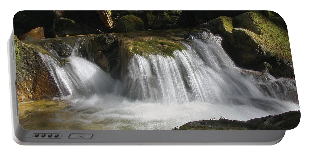Stream Portable Battery Charger featuring the photograph Forest Stream 2a by Sharon Talson