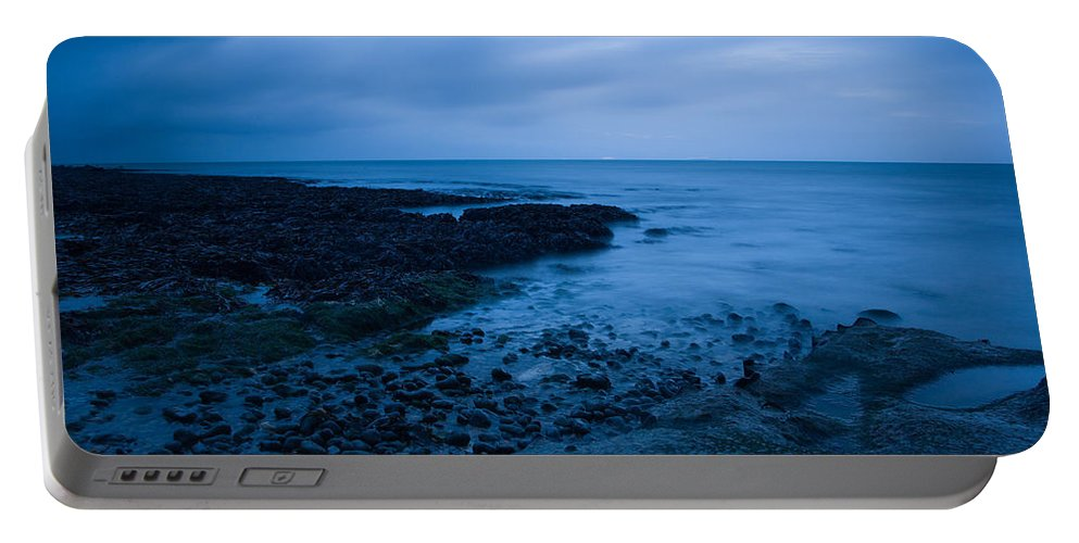 Dover Portable Battery Charger featuring the photograph Forever Blue by Ian Middleton