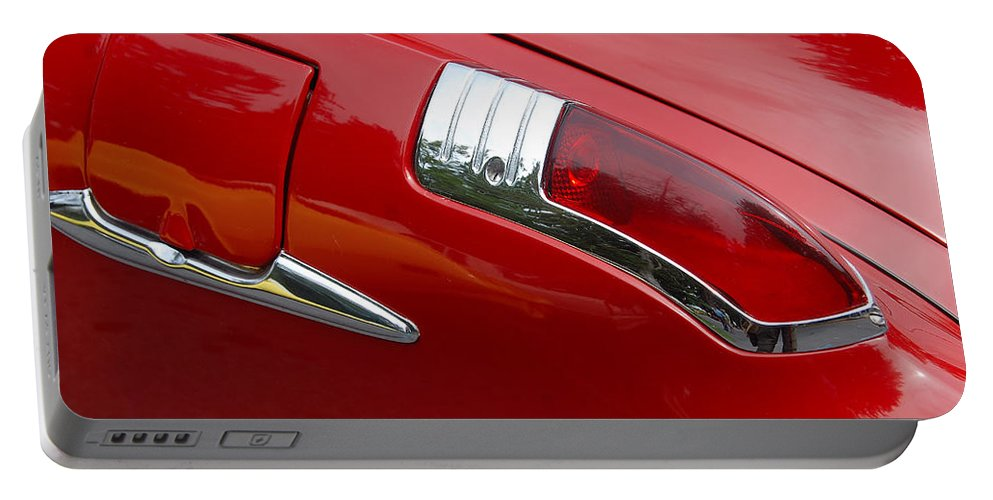 Automobiles Portable Battery Charger featuring the photograph Forty Nine Buick by John Schneider