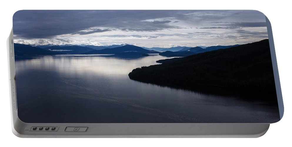Frederick Sound Portable Battery Charger featuring the photograph Frederick Sound Morning by Mike Reid