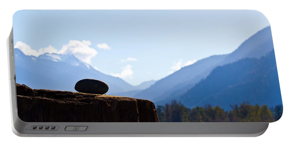 Mountain View Portable Battery Charger featuring the photograph From Any View by Marie Jamieson