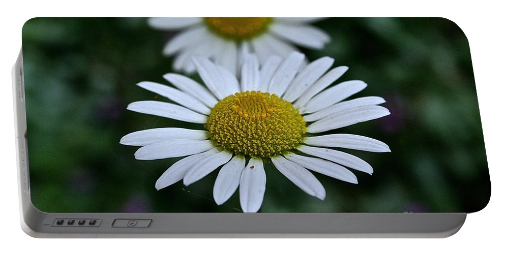 Plant Portable Battery Charger featuring the photograph Front Focus by Susan Herber