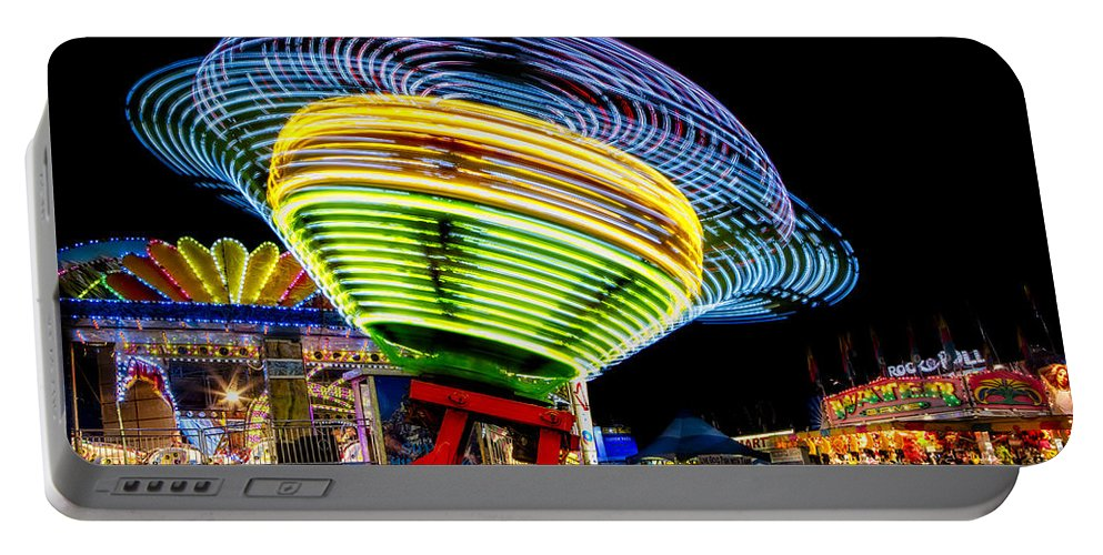 Fair Portable Battery Charger featuring the photograph Fun At The Fair by Susan Candelario