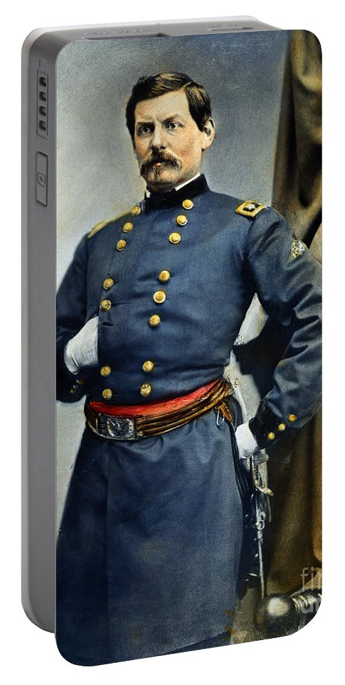 19th Century Portable Battery Charger featuring the photograph General George Mcclellan by Granger