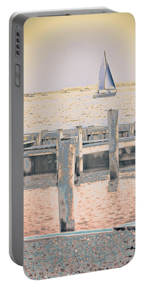 Dock Portable Battery Charger featuring the photograph Get The Coffee Ready by Trish Tritz