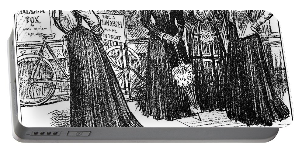 1890s Portable Battery Charger featuring the photograph Gibson Girl, 1890s by Granger