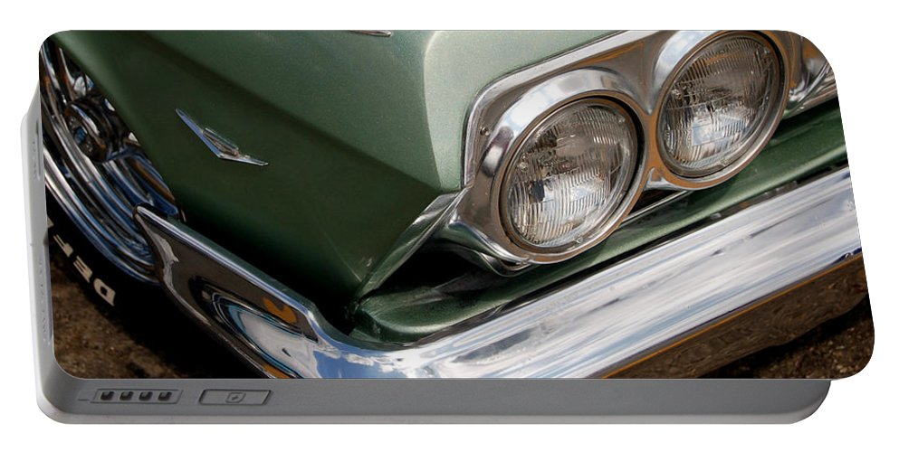 Hot Rod Portable Battery Charger featuring the photograph Gone Green by Gabe Arroyo